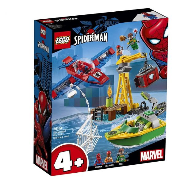 LEGO 76134 - Marvel Super Heroes - Spider-Man: Diamantenraub mit Doc Ock