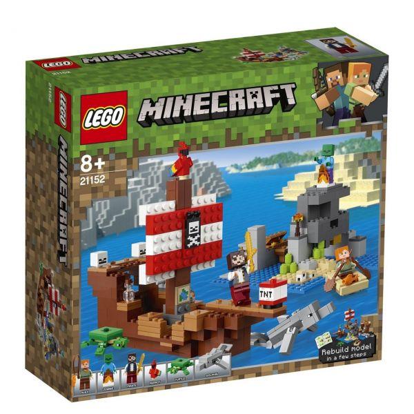 LEGO 21152 - Minecraft - Das Piratenschiff-Abenteuer