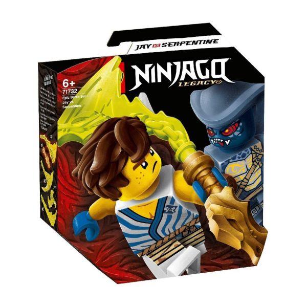 LEGO 71732 - Ninjago® - Battle Set - Jay vs Serpentine