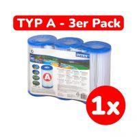 INTEX 29003 - Filterkartusche Filter für Pool, Typ A, 3er Pack