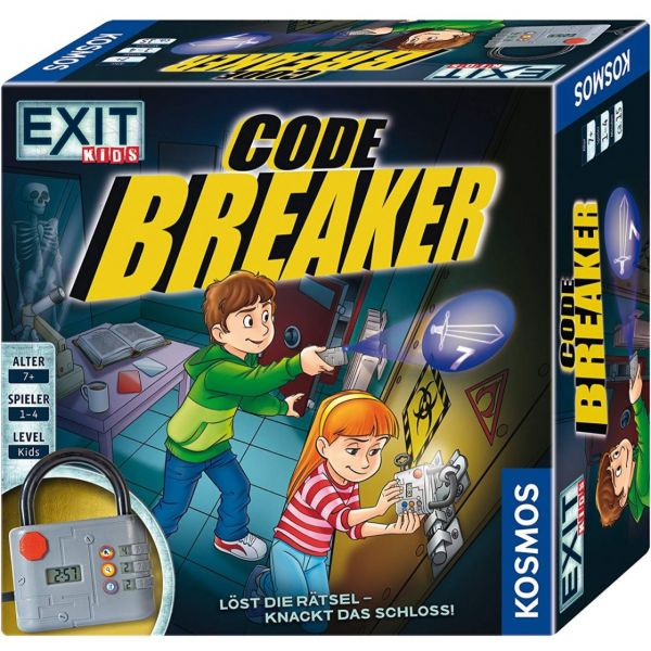 KOSMOS 697921 - EXIT - Kids, Codebreaker