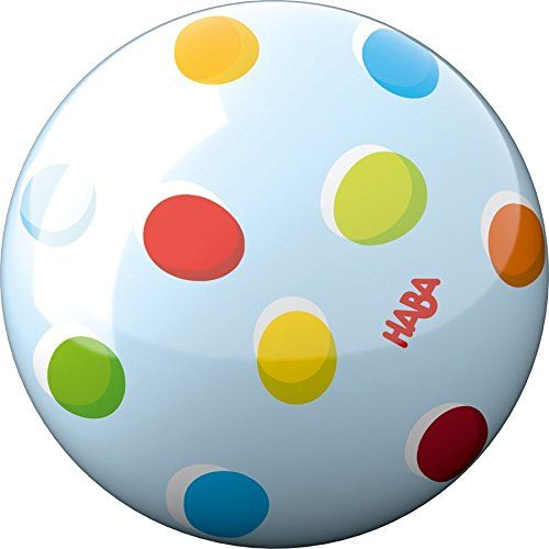 HABA 301997 - Ball - Regenbogenpunkte