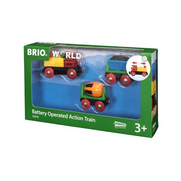 BRIO 33319 - Bahn - Zug mit Batterielok
