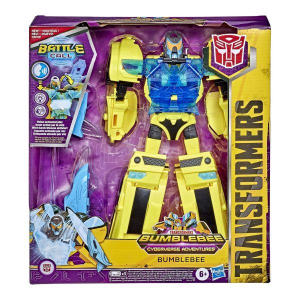 HASBRO E8381 - Transformers - Cyberverse Adventures, Officer-Klasse Bumblebee