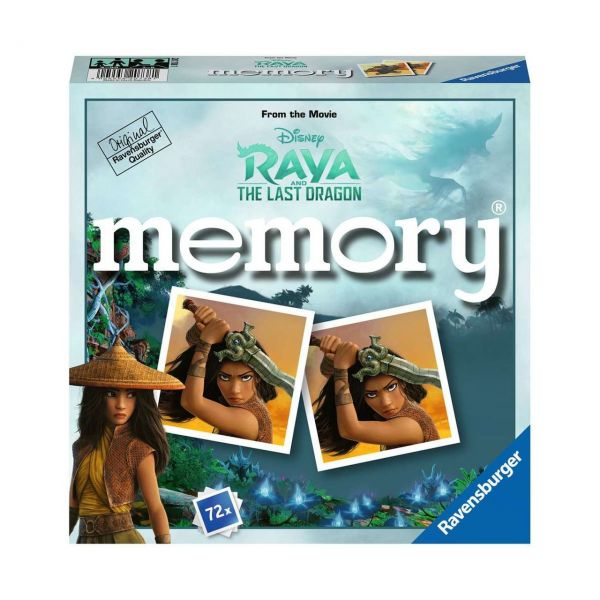 RAVENSBURGER 20738 - memory® - Disney Raya and the last Dragon