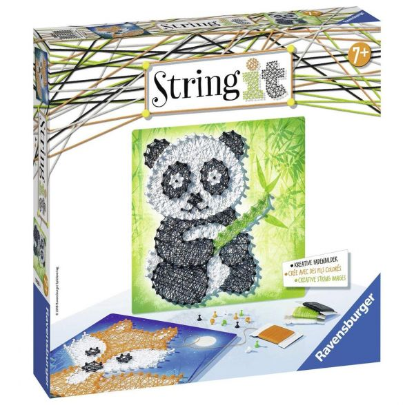 RAVENSBURGER 18029 - String It Midi - Panda und Fox