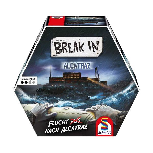 SCHMIDT 49381 - Familienspiel - Break In, Area 51 - Flucht nach Alcatraz