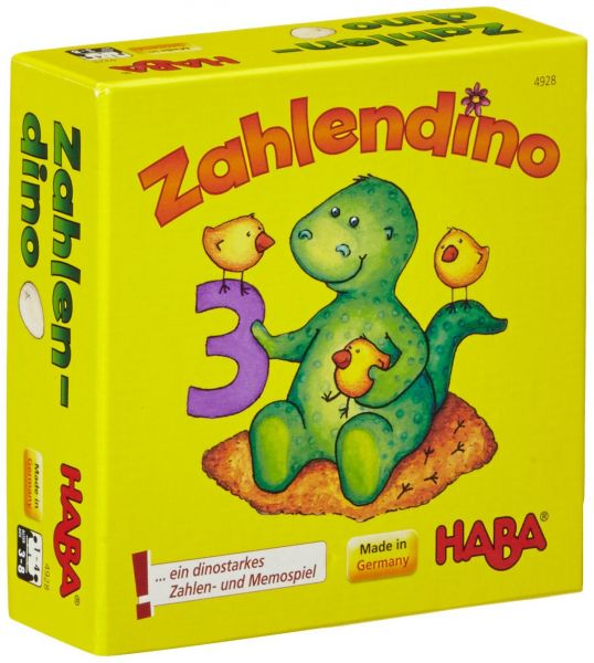 HABA 4928 - Mitbringspiel - Zahlendino