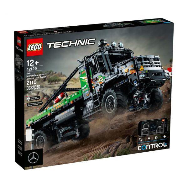 LEGO 42129 - Technic - 4x4 Mercedes-Benz Zetros Offroad-Truck