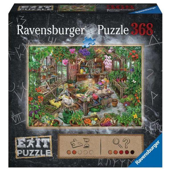 RAVENSBURGER 16483 - Puzzle - Exit: Im Gewächshaus, 368