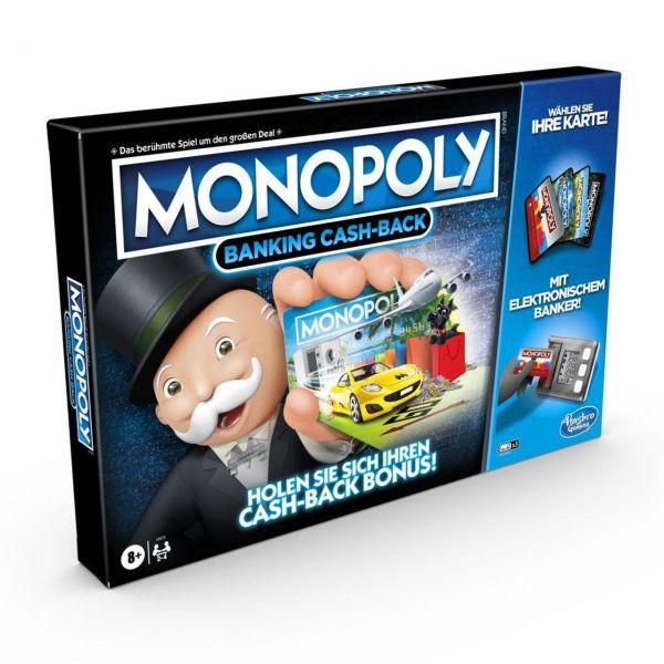 HASBRO E8978 - Gesellschaftsspiel - Monopoly Banking Cash-Back