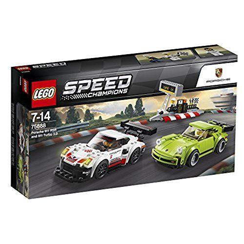 LEGO 75888 - Speed Champions - Porsche 911 RSR und 911 Turbo 3.0