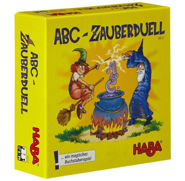 HABA 4912 - Gesellschaftsspiel - Abc-Zauberduell