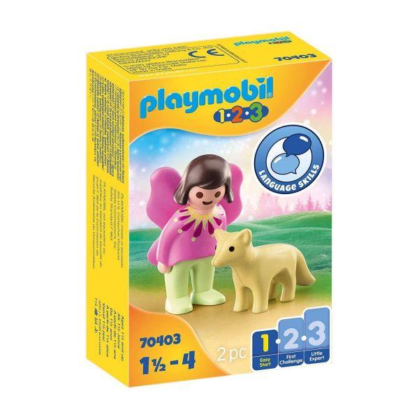 PLAYMOBIL 70403 - 1.2.3 - Feenfreundin mit Fuchs