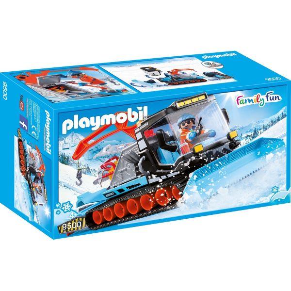 PLAYMOBIL 9500 - Family Fun Wintersport - Pistenraupe