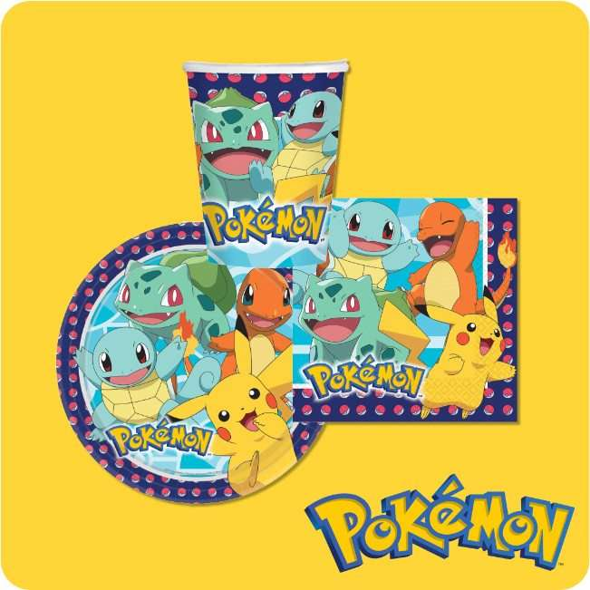 Pokemon Partydeko bei Spielzeugwelten