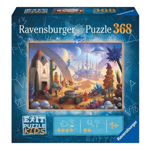 RAVENSBURGER 13266 - Puzzle - Exit Kids: Die Weltraummission, 368 Teile