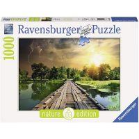 RAVENSBURGER 19538 - Puzzle - Natur Mystisches Licht, 1000 Teile