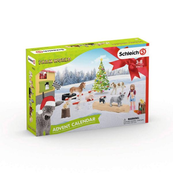 SCHLEICH 97873 - Adventskalender - Farm World, 2019