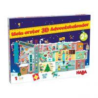 HABA 306267 - Mein erster 3D-Adventskalender - In der Weihnachtsfabrik, 2021