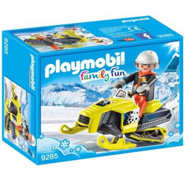 PLAYMOBIL 9285 - Family Fun Wintersport - Schneemobil