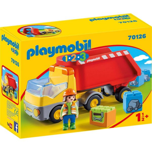 PLAYMOBIL 70126 - 1.2.3 - Kipplaster
