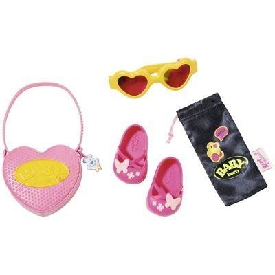 Zapf Creation 825488 - BABY born® Boutique - Taschen und Schuhe Set