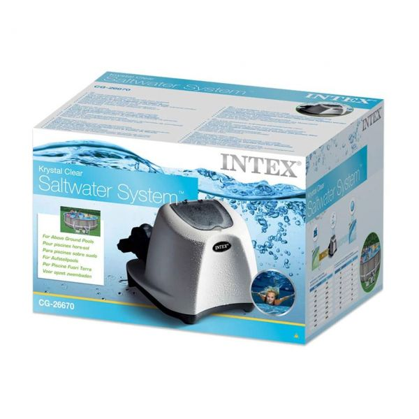 INTEX 26670GS - Poolzubehör - Salzwassersystem Krystal Clear bis 56.800 Liter