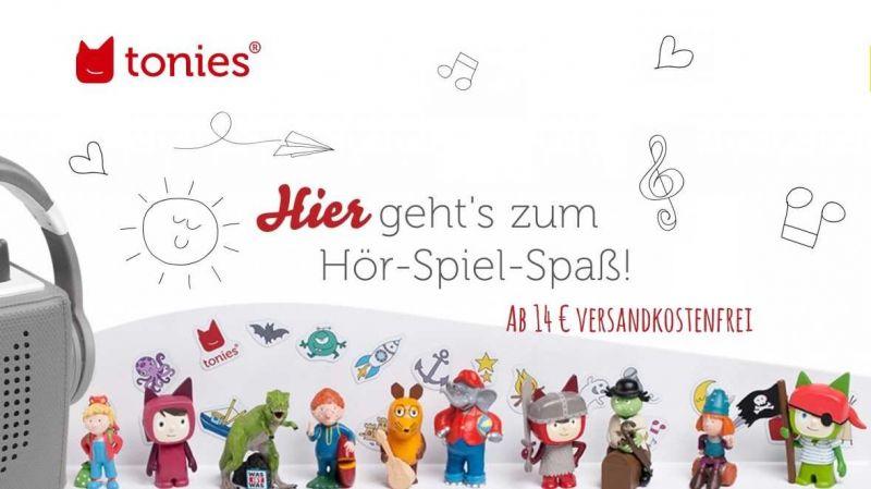 Tonies bei Spielzeugwelten entdecken - alle Tonies ab 14 € versandkostenfrei