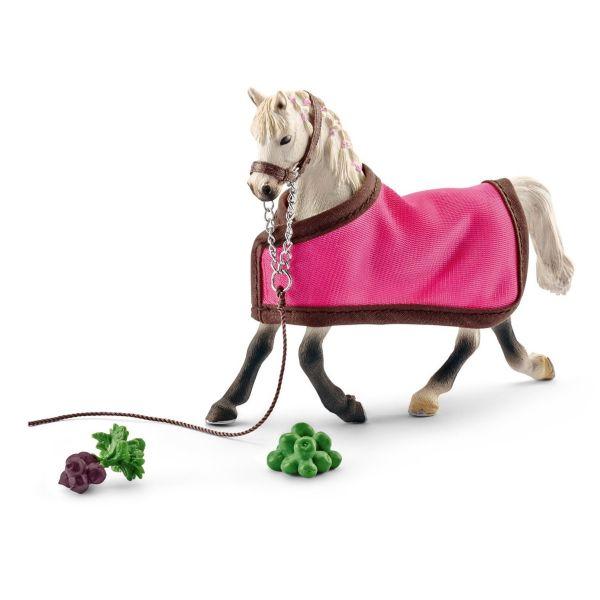 SCHLEICH 41447 - Horse Club - Araber Stute mit Decke