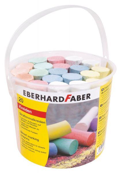Eberhard Faber 526512 - Straßenmalkreide im Eimer