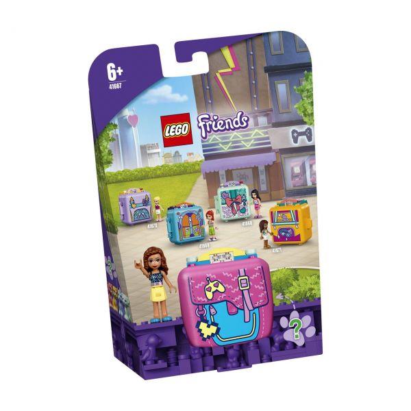 LEGO 41667 - Friends Magische Würfel - Olivias Spiele-Würfel