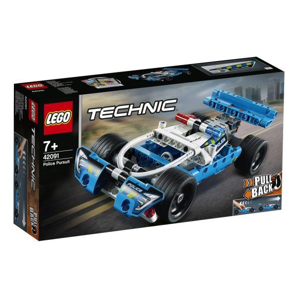 LEGO 42091 - Technic - Polizei-Verfolgungsjagd