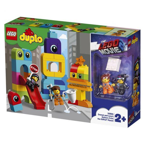 LEGO 10895 - Duplo - The Lego Movie 2 - Besucher vom LEGO DUPLO Planeten