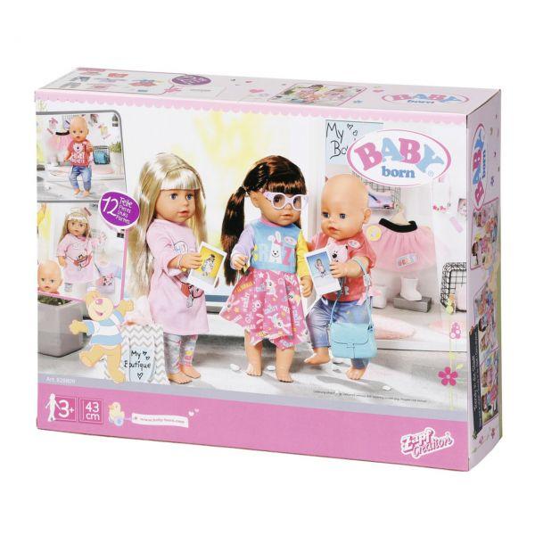 Zapf Creation 828809 - BABY born® - City Fashion Set, 43cm