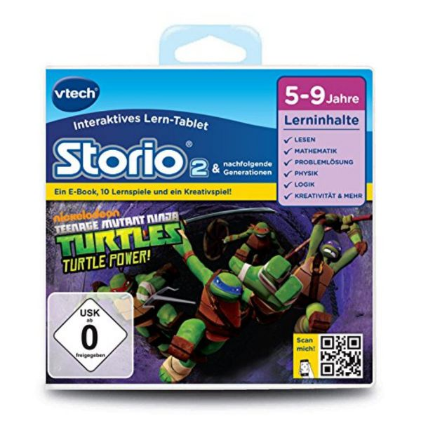 VTECH 80-231304 - Storio 2 Lernspiel - Teenage Mutant Ninja Turtles